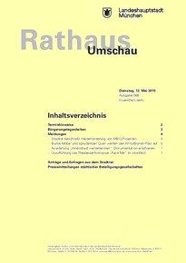 Rathaus Umschau 88 / 2015
