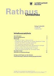 Rathaus Umschau 90 / 2015