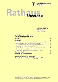 Rathaus Umschau 95 / 2015