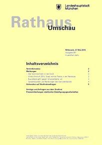 Rathaus Umschau 97 / 2015