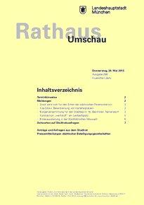 Rathaus Umschau 98 / 2015
