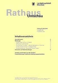 Rathaus Umschau 99 / 2015