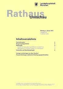 Rathaus Umschau 1 / 2016
