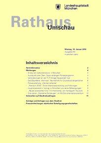 Rathaus Umschau 10 / 2016