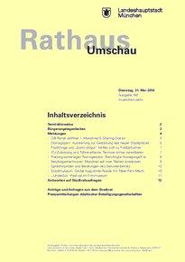 Rathaus Umschau 100 / 2016