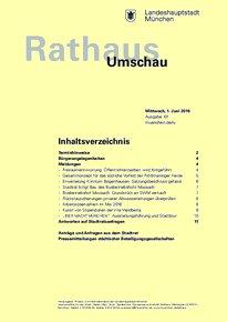 Rathaus Umschau 101 / 2016