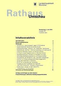 Rathaus Umschau 102 / 2016