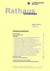 Rathaus Umschau 103 / 2016