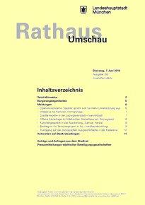 Rathaus Umschau 105 / 2016