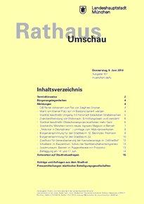 Rathaus Umschau 107 / 2016