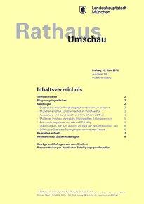 Rathaus Umschau 108 / 2016