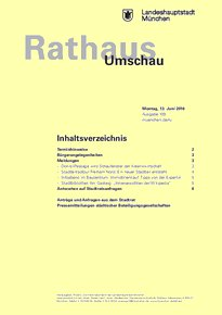 Rathaus Umschau 109 / 2016