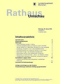 Rathaus Umschau 11 / 2016