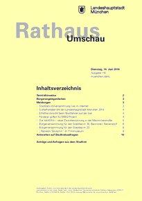 Rathaus Umschau 110 / 2016