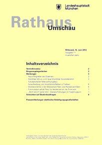 Rathaus Umschau 111 / 2016