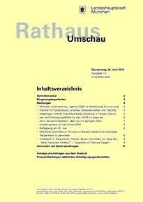 Rathaus Umschau 112 / 2016