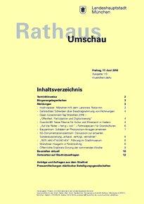 Rathaus Umschau 113 / 2016
