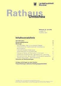 Rathaus Umschau 116 / 2016