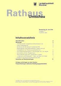 Rathaus Umschau 117 / 2016