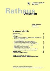 Rathaus Umschau 118 / 2016