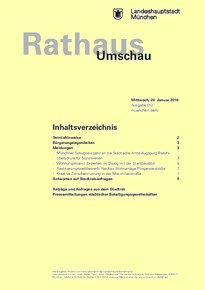 Rathaus Umschau 12 / 2016