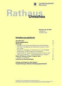 Rathaus Umschau 120 / 2016