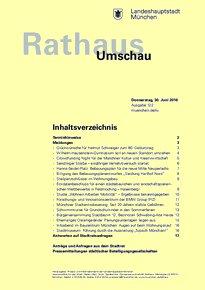 Rathaus Umschau 122 / 2016