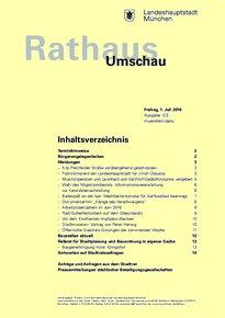 Rathaus Umschau 123 / 2016