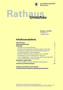 Rathaus Umschau 124 / 2016