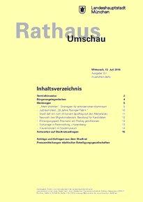 Rathaus Umschau 131 / 2016