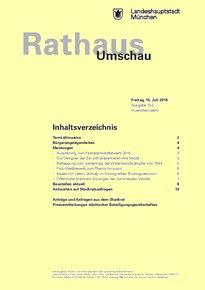 Rathaus Umschau 133 / 2016