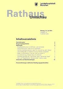Rathaus Umschau 134 / 2016