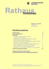 Rathaus Umschau 135 / 2016