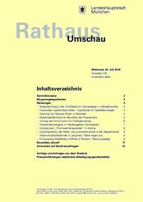 Rathaus Umschau 136 / 2016