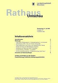 Rathaus Umschau 137 / 2016