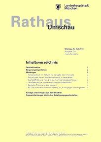 Rathaus Umschau 139 / 2016