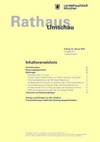 Rathaus Umschau 14 / 2016