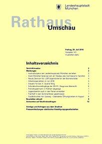 Rathaus Umschau 143 / 2016