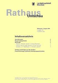 Rathaus Umschau 146 / 2016