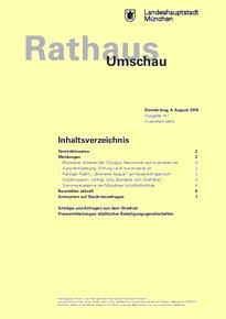 Rathaus Umschau 147 / 2016
