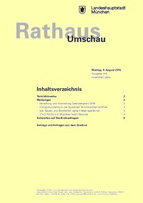 Rathaus Umschau 149 / 2016