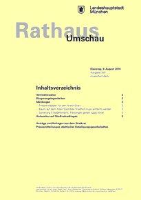 Rathaus Umschau 150 / 2016