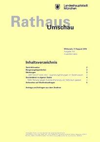 Rathaus Umschau 155 / 2016