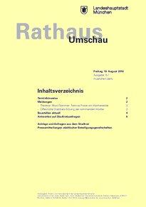 Rathaus Umschau 157 / 2016