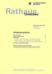 Rathaus Umschau 159 / 2016