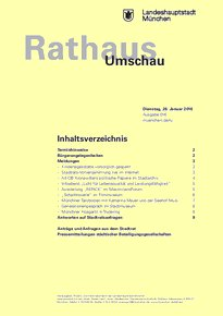 Rathaus Umschau 16 / 2016