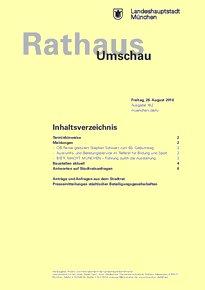Rathaus Umschau 162 / 2016
