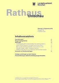 Rathaus Umschau 169 / 2016