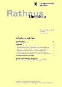Rathaus Umschau 17 / 2016