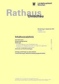 Rathaus Umschau 171 / 2016
